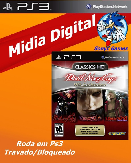 Devil May Cry® Hd Collection Ps3 Psn Envio Rápido