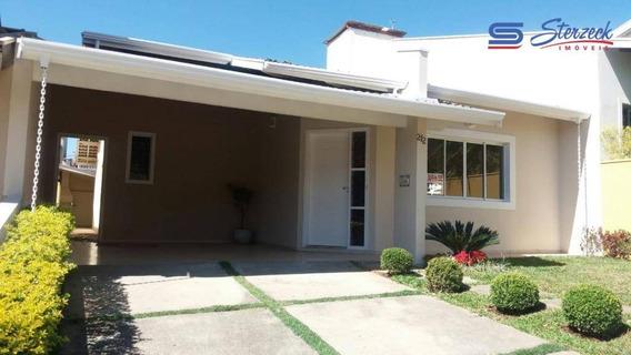 Casa Com 3 Dormitórios Para Alugar, 160 M² Por R$ 3.400,00/mês - Condomínio Grape Village - Vinhedo/sp - Ca1219