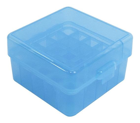 Caixa Cytac Mod Bcsh25 Para 25 Cartuchos Cal 12ga/20ga -azul