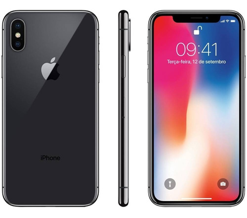 Celular Smartphone Apple iPhone X 256gb Cinza - 1 Chip