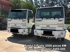 Ford Cargo 1317 Año 2006 Excelente!!!