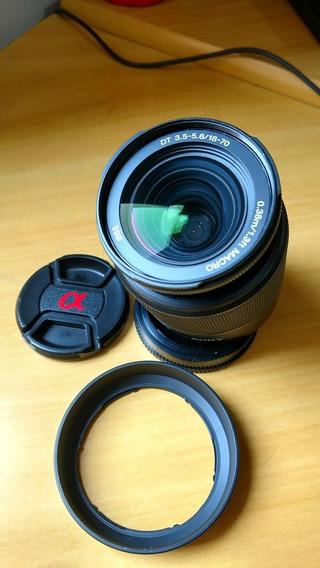 Lente Sony Dt 18-70 3.5-5.6 Macro A-mount
