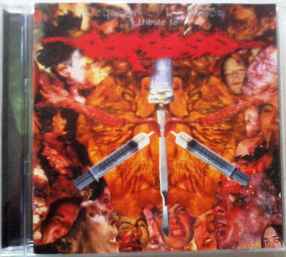 Carcass Requiems Of Revulsion Tribute Cd 1er Ed. Death Grind