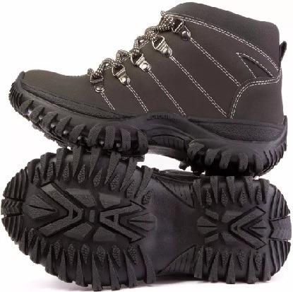 Tênis Bota Sapato Adventure Masc. Social Em Couro Salazari