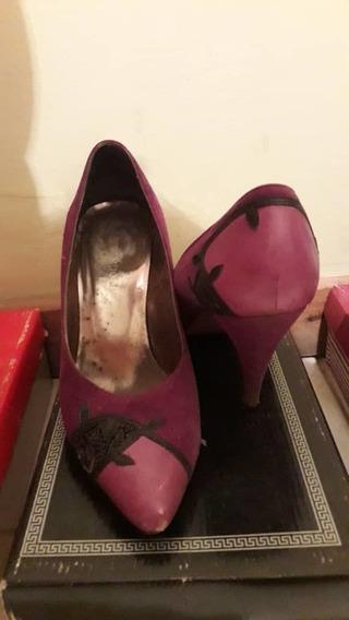 Zapatos De Dama En Buen Estado Talla 38