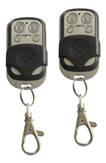 2 Peças Controle Remoto Alarme Vgc-300 Discadora Vigere