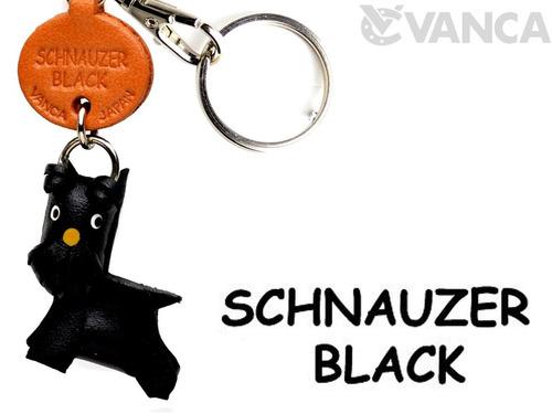 Imagen 1 de 8 de Schnauzer Black Dog Dog Pequeño Llavero Vanca Craft-colle