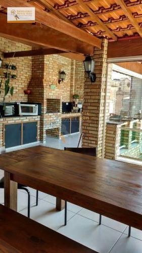 Sobrado Com 3 Dormitórios À Venda, 320 M² Por R$ 790.000,00 - Jardim Munhoz - Guarulhos/sp - So0160