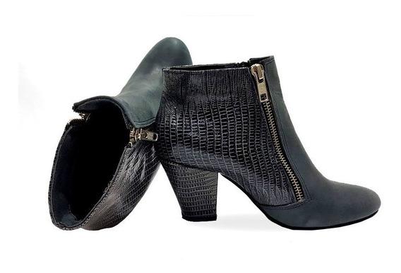 Bota Mujer Botinetas Sandalias Oferta Botitas Moda Negro