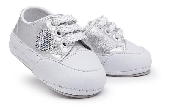Sapato Tênis Bebê Kids Feminino Baby Menina Rosa 14 Ao 19