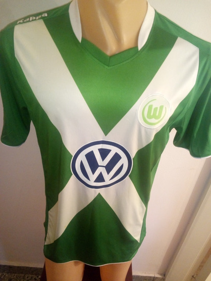 Camiseta Wolfsburgo Temporada 2014/15 Marca Kappa, Impecable