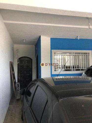 Sobrado Com 3 Dormitórios À Venda, 125 M² Por R$ 610.000,00 - Parque Continental I - Guarulhos/sp - So0655