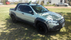 Fiat Strada Adventure Locker Año 2011 Extrafull