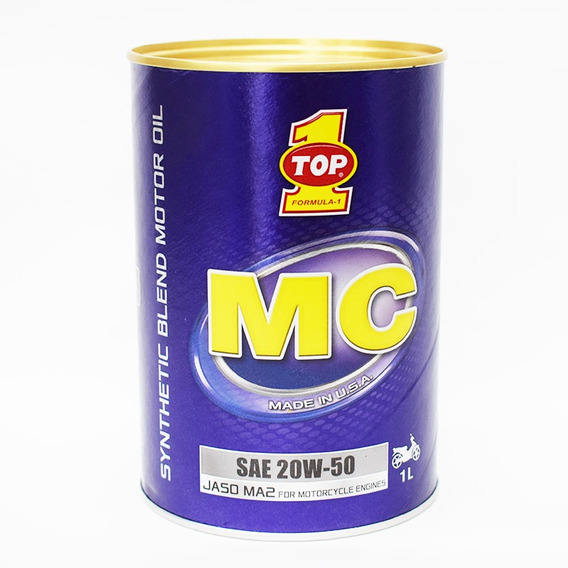 Aceite Top 1 Mc 20w50 4t Sintetico