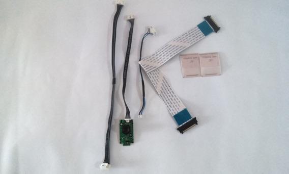 Kit Cabo Flat +sensor + Conectores Tv Samsung Un40eh5000