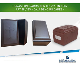 Urnas Cinerarias Para Cremaciones. Caja Con 60 Unidades.
