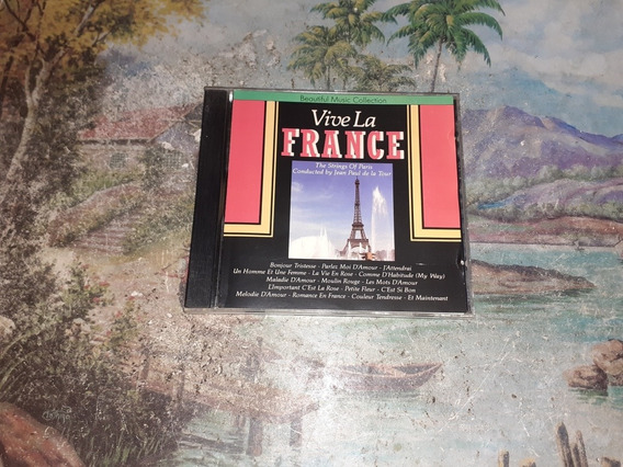 Cd Vive La France Beautiful Music Collection Original