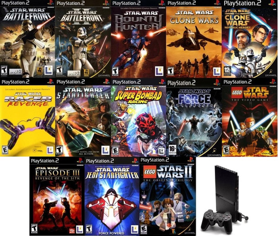 13 Patchs Ps2 - Star Wars Super Collection