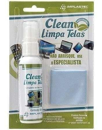 Clean Limpa Telas 60ml - Implastec