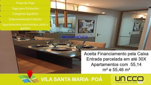 Imagem 1 de 24 de Comprar Apartamento Em Poá - Ap00255 - 68410348