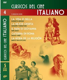 Pack Coleccion 5 Dvd Cine Italiano Benigni - Tornatore