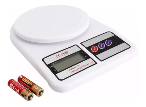 Balanza Peso Digital Cocina 7kg X 1gr Batería Portátil (5v)