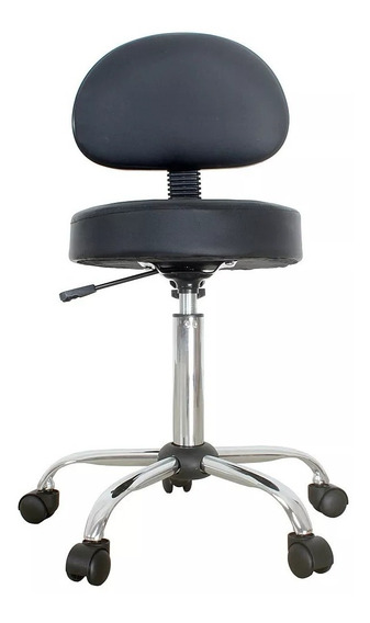 Cadeira Mocho Giratória Estética Clínica Dentista Tatuado