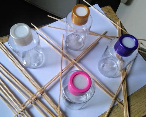 Imagen 1 de 10 de Envase Frasco Pet Cristal  Difusor Aromático  + Varillas X30
