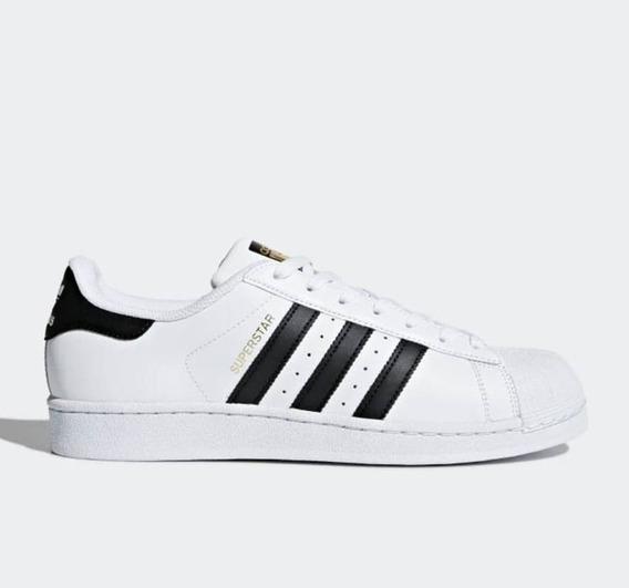 Auténtico Hombre adidas Superstar Originales *** Tallas 35 A