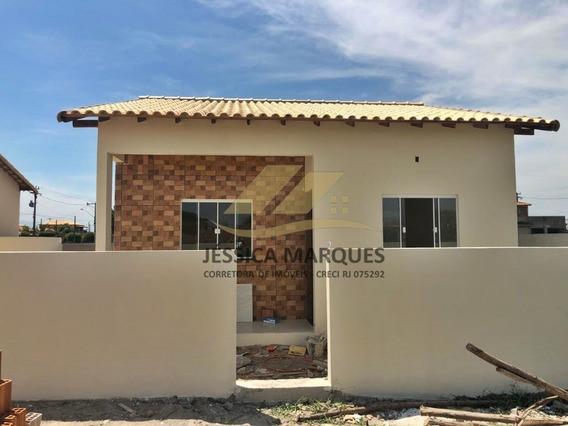 Linda Casa Com 2 Quartos Em Unamar - Cabo Frio - Rj