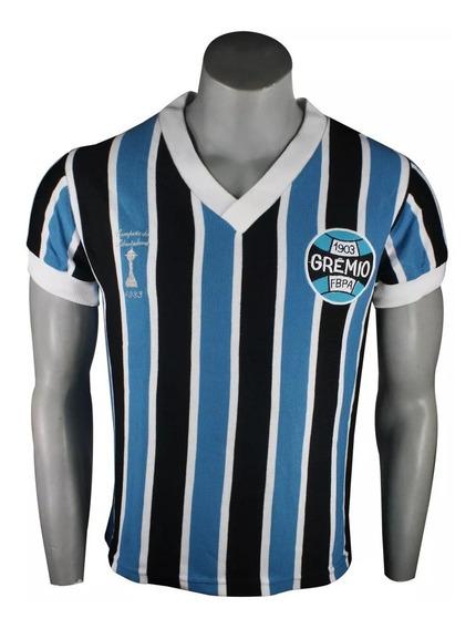 Camiseta Grêmio Retrô Renato Gaúcho 1983 I Schuh Haus 3132