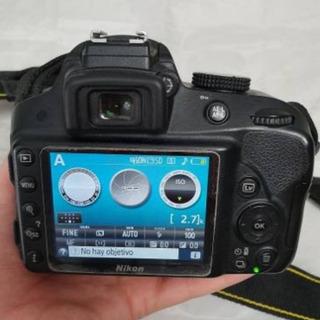 Camara Nikon D3300+lente 50mm F1.8g+gratis Microfono+control