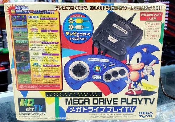 Megadrive Play Tv Série Limitada 6 Jogos Na Memória Japan