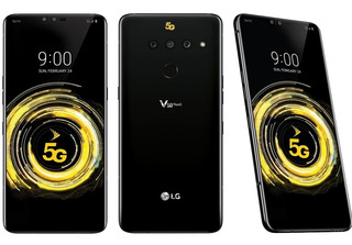 Cel Lg V50 Thinq 5g+ 6gb Ra 128gb Single Chip Nano+ Fone Akg