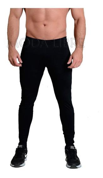 Calza Termica Chupin Tiro Alto - Lycra Frizada - Invierno - Hombre - Moda Libre 1 - Talle Especial * 3x - 6x *