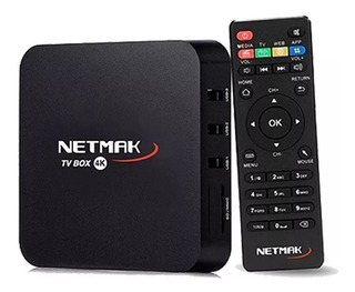 Conversor De Smart Netmak Nm Tvbox1 8gb Android 7.1 1gb Ram