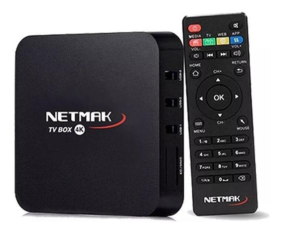 Conversor De Smart Netmak Nm Tvbox1 8gb Android 7.1 1gb Ram
