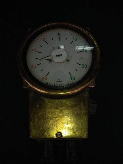 Relógio Náutico De Navio Antigo