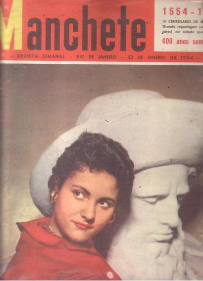 Manchete 1954.getulio.são Paulo.flamengo.carmen Costa.moda