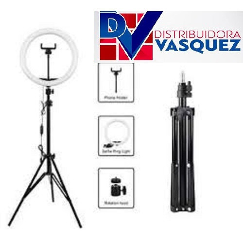 Aro De Luz 45cm Profesional + Tripode Transmisión En Vivo