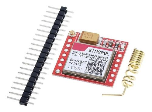 Imagen 1 de 5 de Sim800l Gprs Gsm Modulo Microsim Sms Datos Antena Arduino