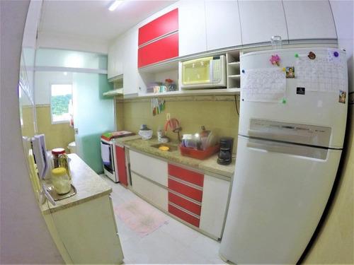Imagem 1 de 30 de Apartamento Com 2 Dormitórios À Venda, 74 M² Por R$ 410.000,00 - Canto Do Forte - Praia Grande/sp - Ap3524