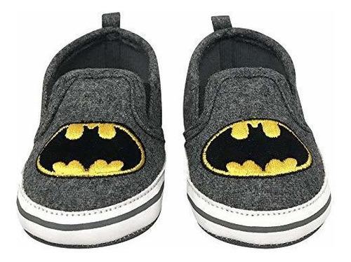 Dc Comics Batman Zapatillas De Suela Suela Suave