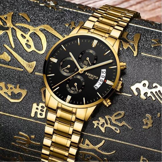 Relógio Nibosi Doura1985a Provad