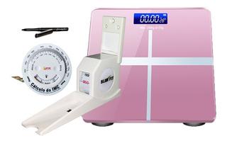 Estadiômetro Medidor De Altura Compacto Academia Clínica