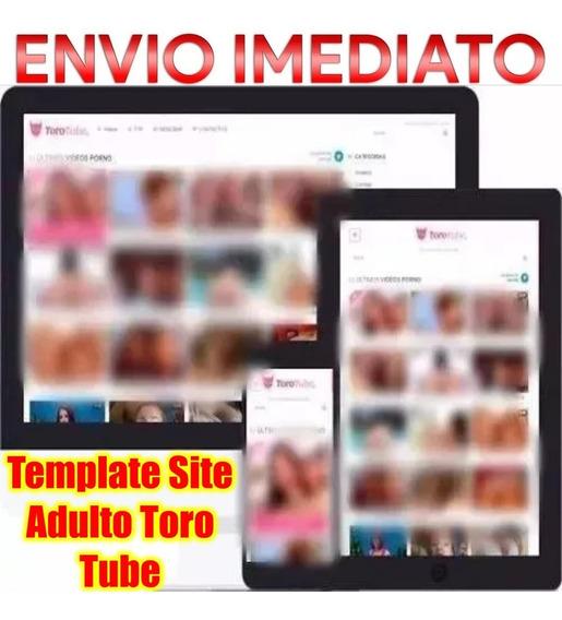 Template Site Adulto Toro Tube + Curso Xafiliados