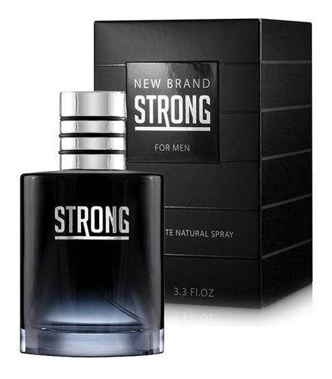 Kit 2 Perfume New Brand Strong Edt 100ml ( Lacrado )