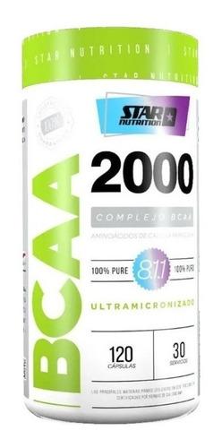 Bcaa 2000 Star Nutrition Zona Sur