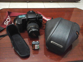 Câmera Analógica Canon Eos 100 Com Lente 35-80mm + Tripé