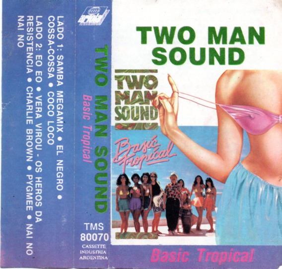Two Man Sound - Basic Tropical (1990) Cassette Original